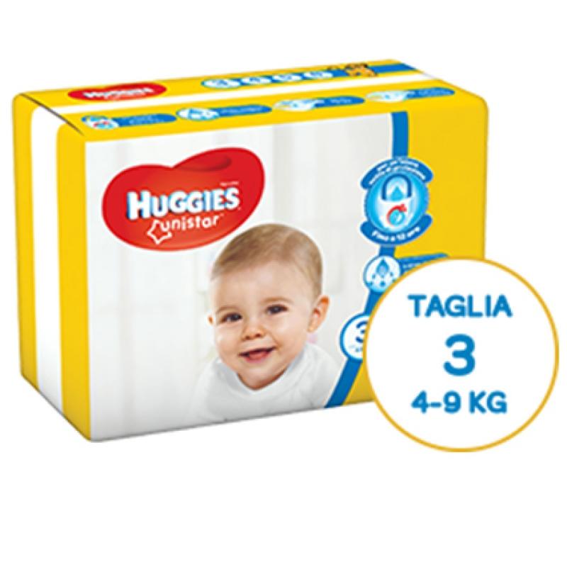 Huggies Pannolini Unistar 3 (4-9 kg)