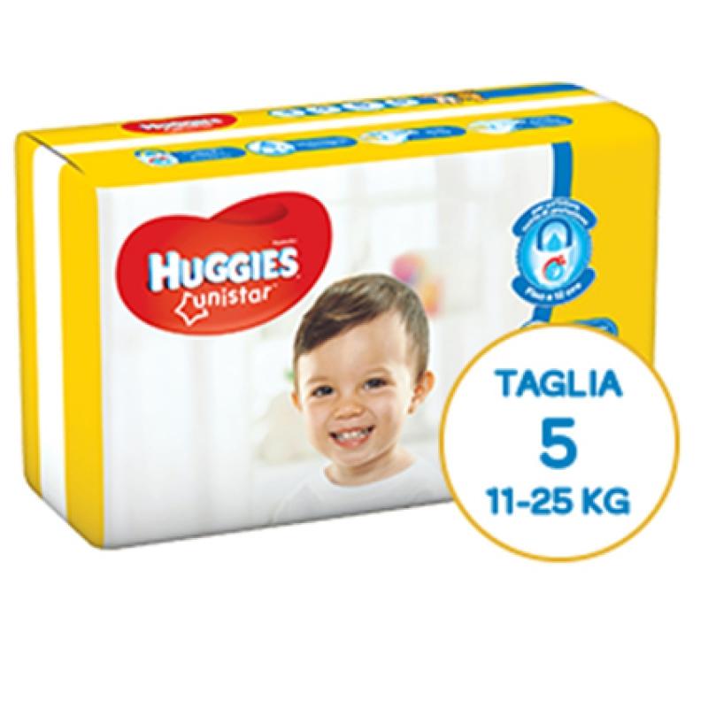 Huggies Pannolini Unistar 5 (11-25 kg)