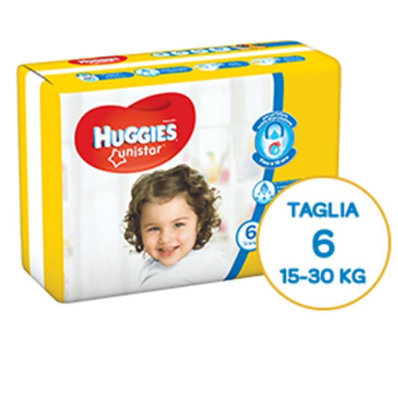 Huggies Pannolini Unistar 6 (15-30 kg)
