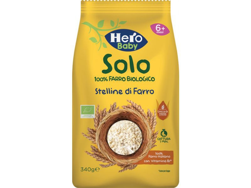 HERO SOLO PASTINA DI FARRO 100% BIO 340 G