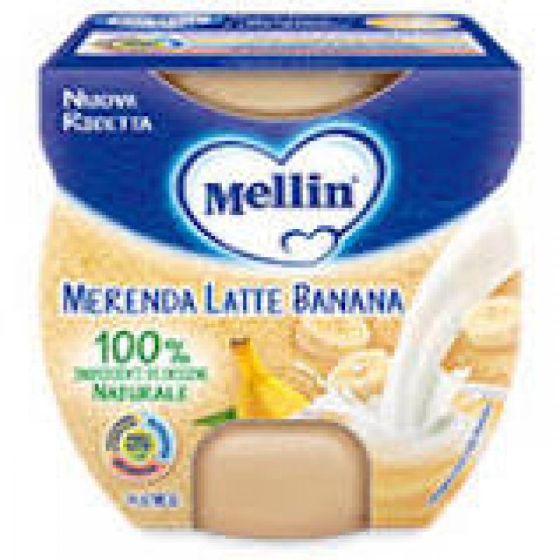 MELLIN MERENDA LATTE BANANA 2 X 100 G