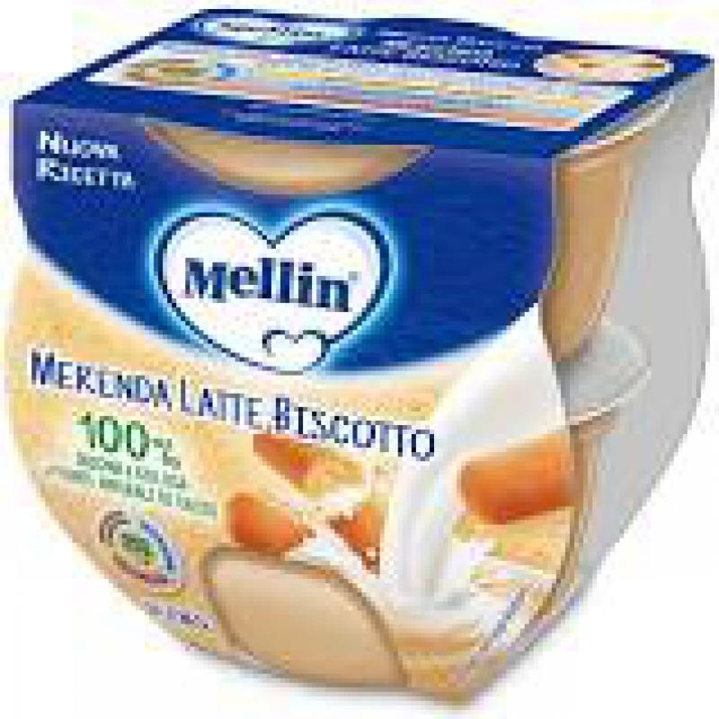 MELLIN MERENDA LATTE BISCOTTO 2 X 100 G