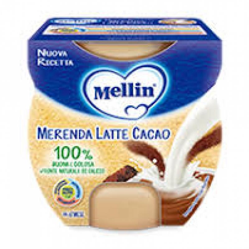 MELLIN MERENDA LATTE CACAO 2 X 100 G