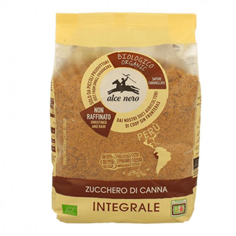 Zucchero integrale di canna biologico Alce Nero