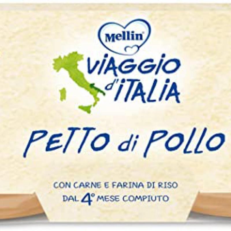 MELLIN BIO OMOGENEIZZATO PETTO POLLO 4 X 80 G