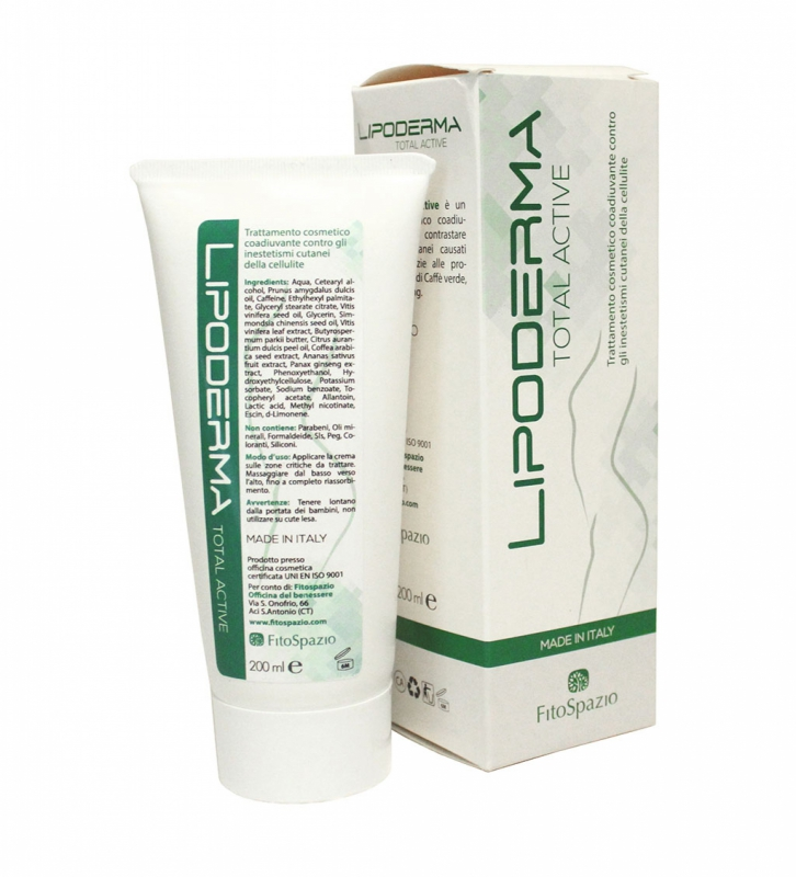 LIPODERMA TOTAL ACTIVE 200ML CREMA SNELLENTE