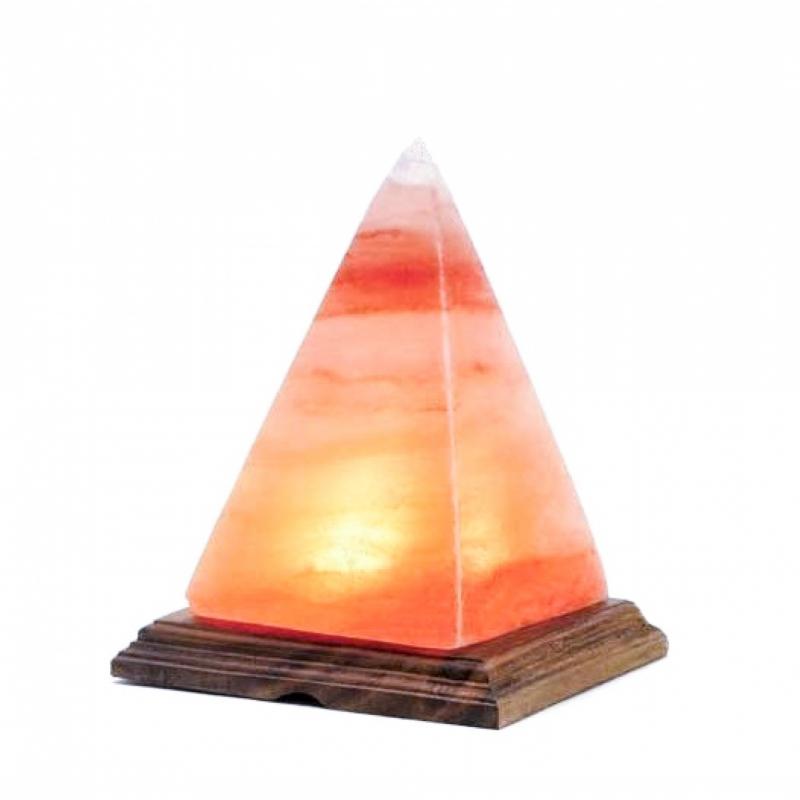 Lampada Naturale Sale Rosa Himalaya Piramide 3kg
