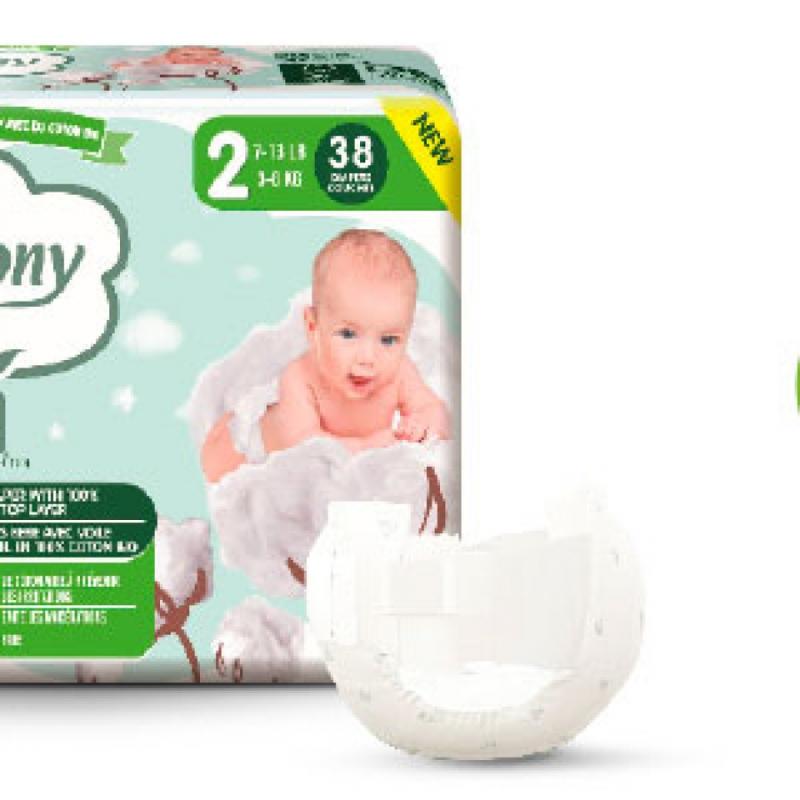 Cottony pannolini mini 38pz