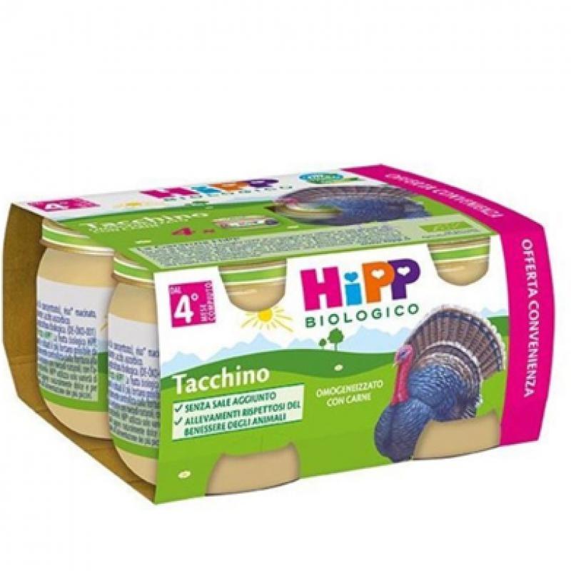HiPP omogeneizzato biologico tacchino