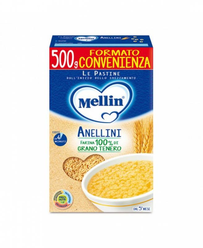 MELLIN PASTA ANELLINI 500 G