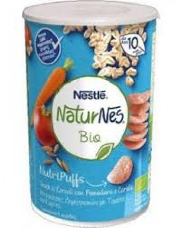NESTLE'NATURES BIO NUTRIPUFFS BANANA LAMPONE 35 G